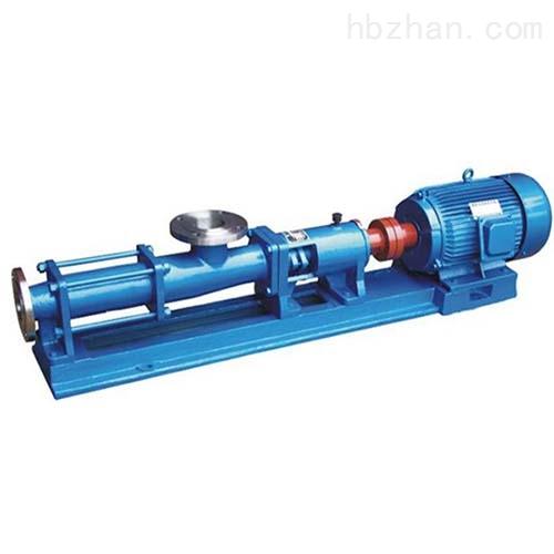 不锈钢耐高温螺杆泵