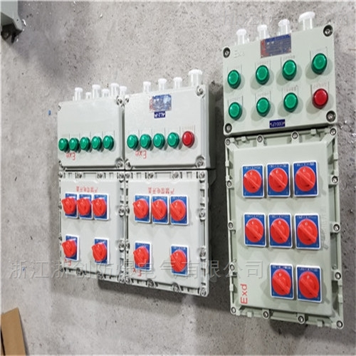 石化防爆照明配电箱BXM53,正泰元件