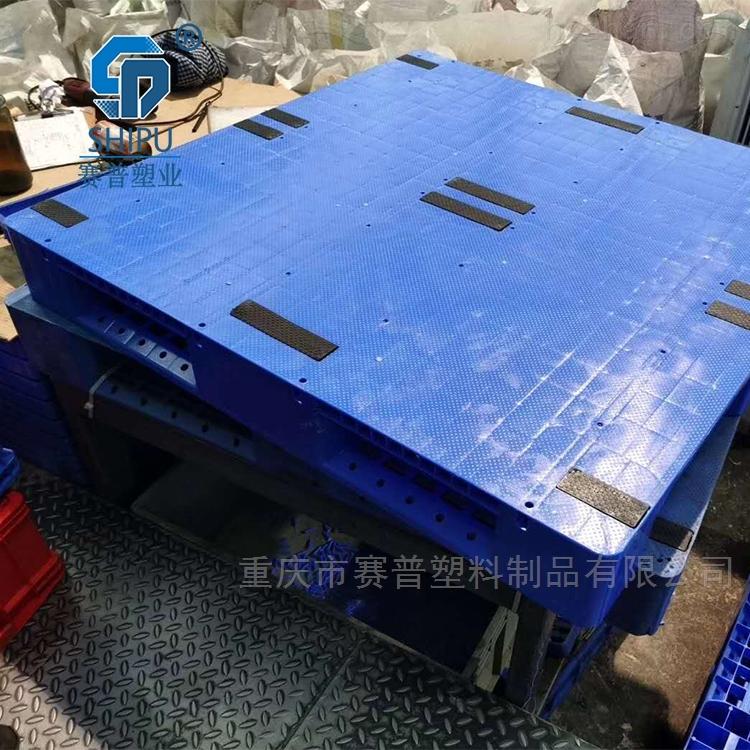 1.1米方形平面托盘 塑料平板周转栈板地托