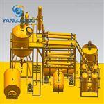 YJ-TY重庆压缩机油再生加工润滑基础油蒸馏设备