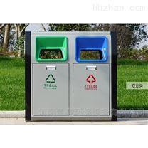山西省户外钢板果皮箱 垃圾桶批发厂家