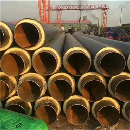 预制高密度聚乙烯保温管规格表