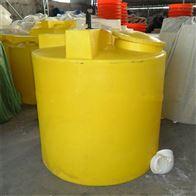 黄石2吨平底防腐加药桶配计量泵带搅拌价格