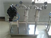 手推车移动式隔膜泵过滤器