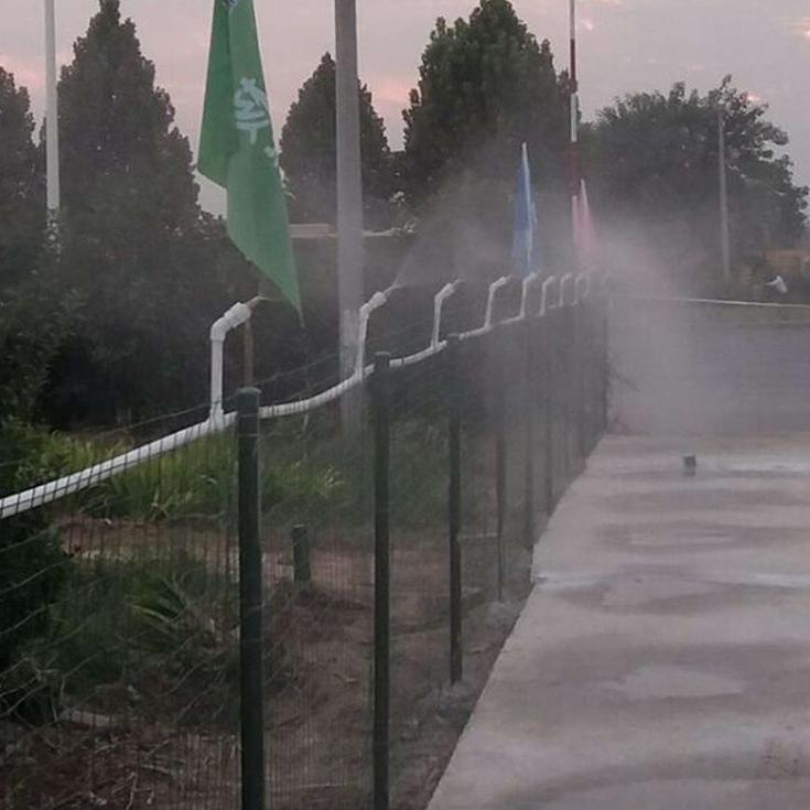 黄冈围挡喷淋系统工厂直供厂房喷淋使用放心