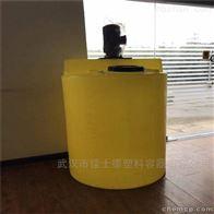 鄂州5吨耐酸碱加药箱带搅拌机配套计量泵