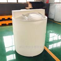 汉川300L平底化工药剂搅拌桶配套计量泵