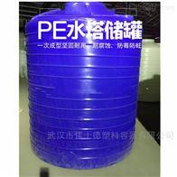 湖北红安25吨PAC储罐塑料平底罐价格
