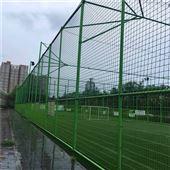 室外球场包塑围网 热浸塑防腐篮球场围网