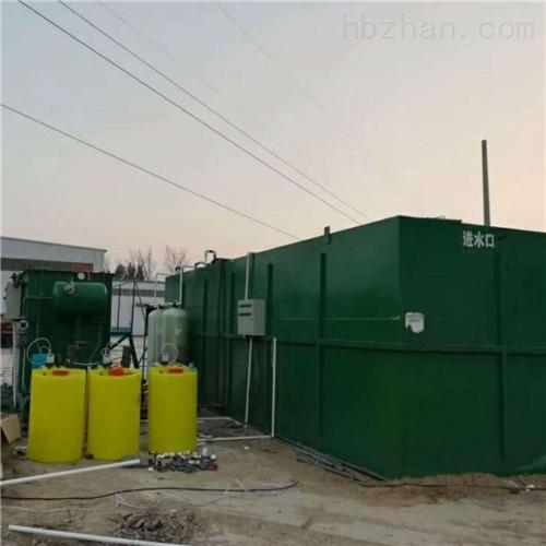 三明农村污水处理一体化地埋设备