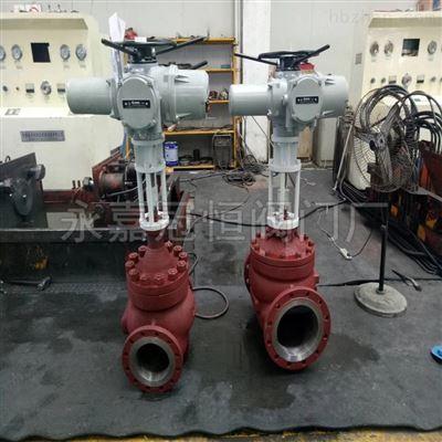 厦门DN500电动不锈钢流量调节阀电动阀门