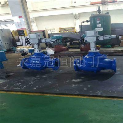 岳阳DN150 ZAZN-16C电动不锈钢流量调节阀电动阀门