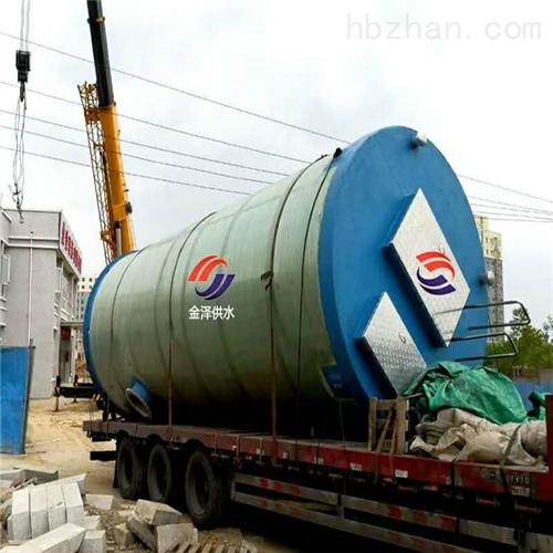 污水一体化提升泵站为何成为市政管网的必备产品?