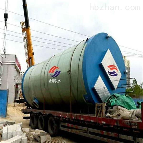 尚志双城玻璃钢污水提升泵站算下来多少钱?