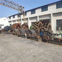 河南大型洗砂机生产线,周口轮式洗沙机