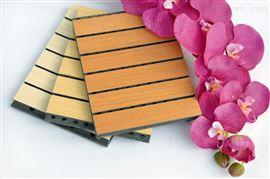 广州建声木质吸音板阻燃环保吸声板材厂家