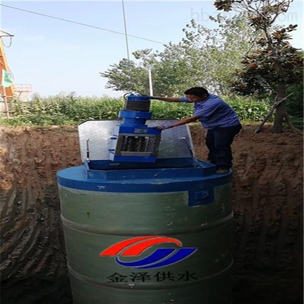 辽宁辽阳地埋式污水提升泵站生产基地