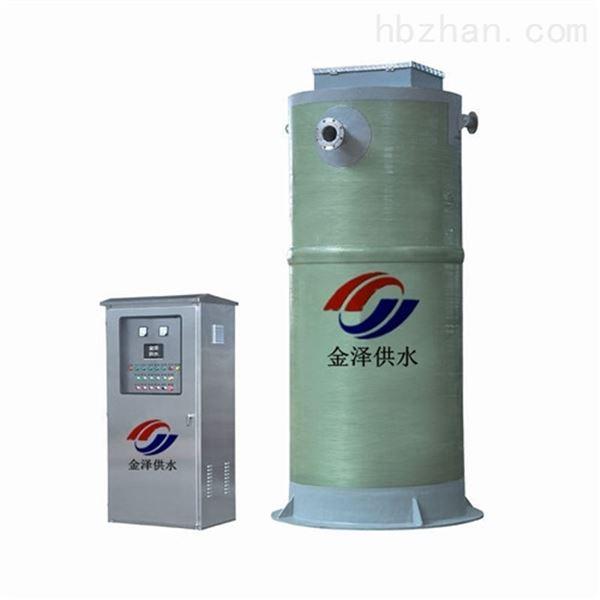 重庆武隆玻璃钢一体化泵站深受客户好评