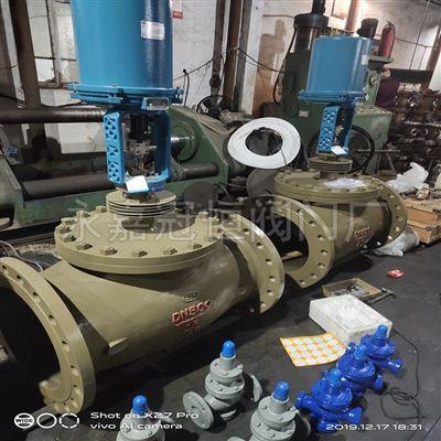 南通DN40 ZDLP-64C/P381电动铸钢调节阀电动阀门