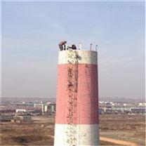 南京高空拆除公司-水泥烟囱拆除施工