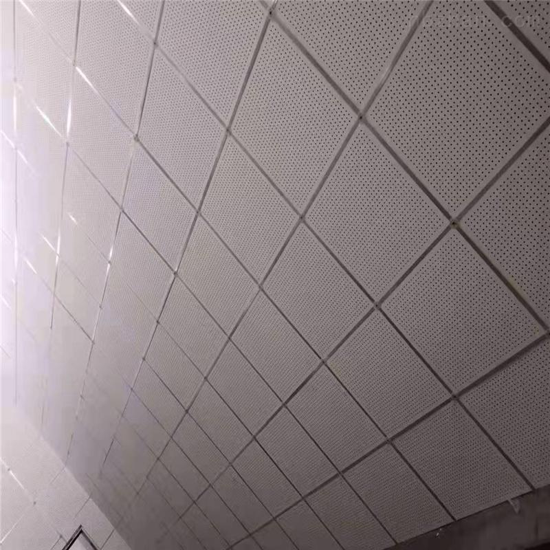 穿孔吸音吊顶硅酸钙复棉板