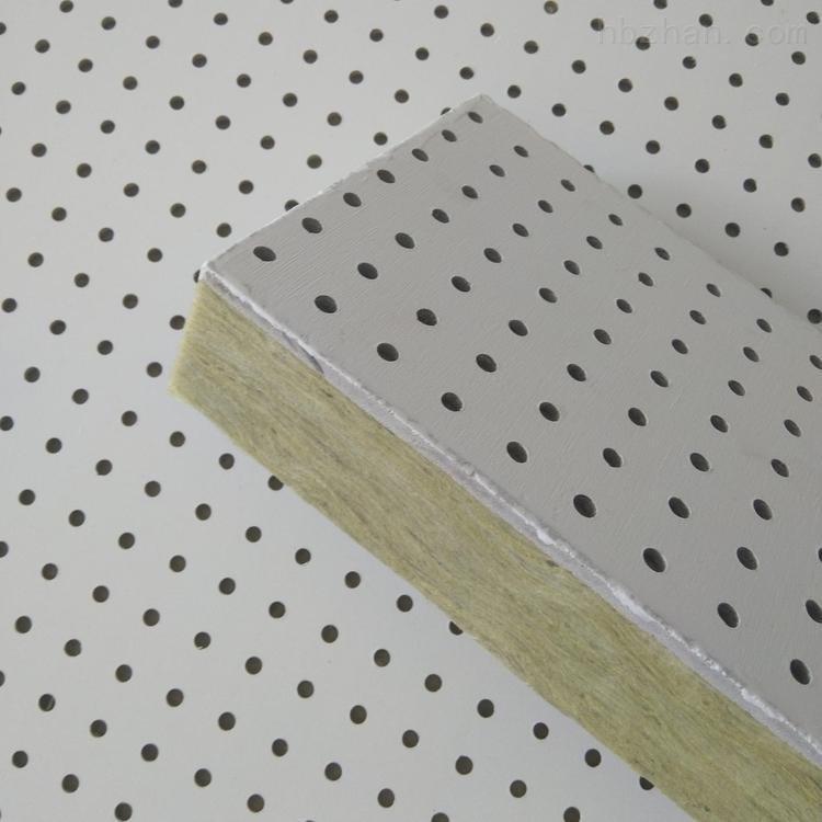 硅酸钙穿孔吸音复合板墙面装饰一体板