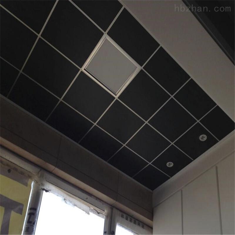 影院专用黑天花板玻纤吸音板