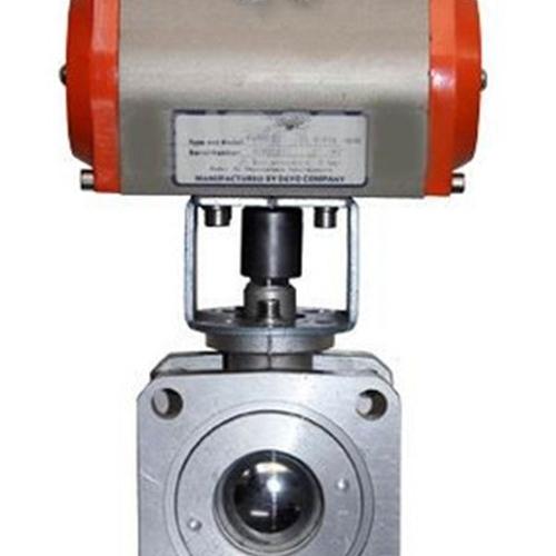 Q641F10L气动铝合金球阀