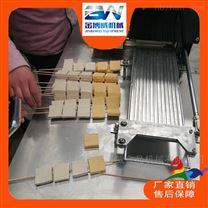 千页豆腐切割、穿串一体机多少钱