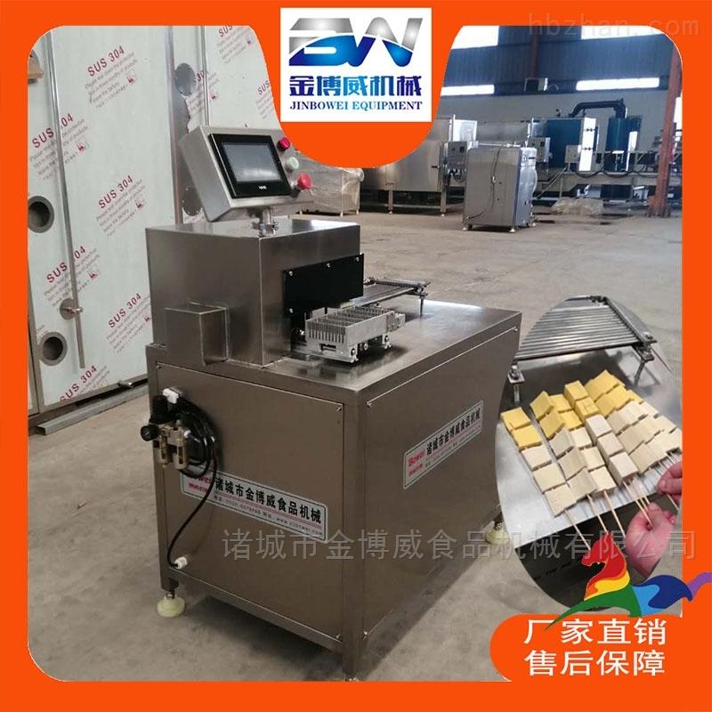 千页(叶)豆腐穿串机哪里生产