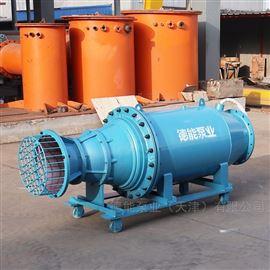500QZB雪橇式潜水轴流泵_卧式安装