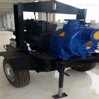 P型2轮拖车移动式无堵塞柴油机自吸泵