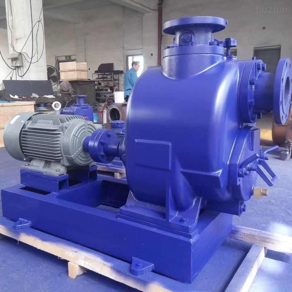 P型无堵塞自吸式排污泵