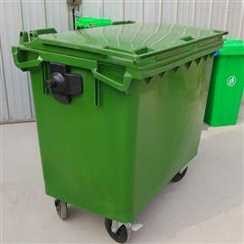 660L麦盖提四轮垃圾收纳箱_塑料垃圾桶种类
