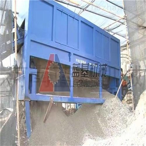 蓝基垃圾分离机将垃圾堆放场变材料供应基地