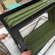 长方形法兰风道软连接按图纸定制