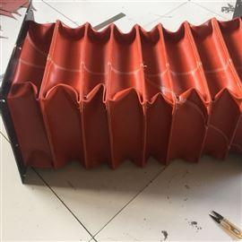 天津方形防火硅胶布通风软连接