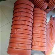 设备高温通风吸尘硅胶布伸缩风管