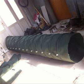 自动升降式除尘帆布散装机卸料布袋