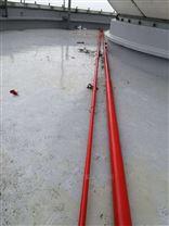 12米玻璃钢避雷针 玻璃栈道防雷针
