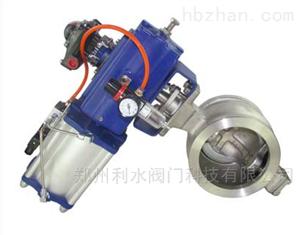 VQ677气动V型球阀