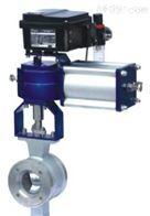 VQ671F铸钢气动V型球阀