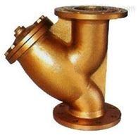 GL41W黄铜法兰过滤器