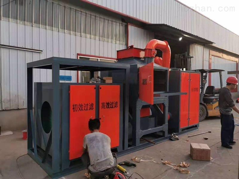 催化燃烧设备、环氧锌基生产线、浸塑设备等