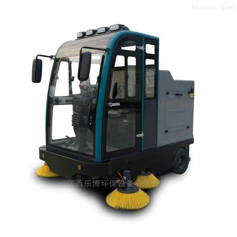 江西物业清扫树叶尘土用电动扫地车
