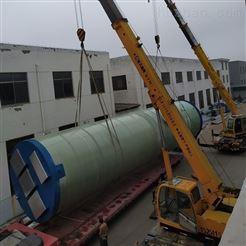 JZ-1200-2000一体化预制泵站 机械缠绕GRP玻璃钢筒体