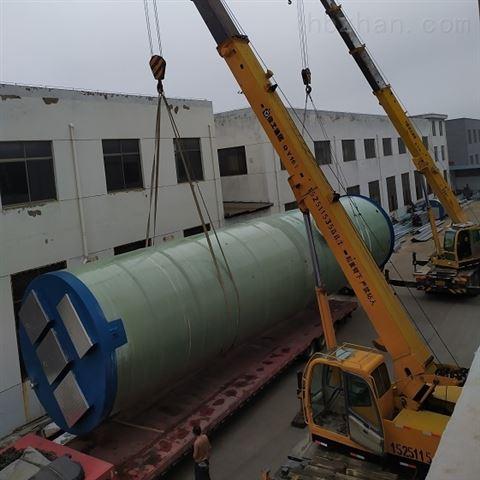 新型玻璃钢环保产品 一体化污水提升泵站