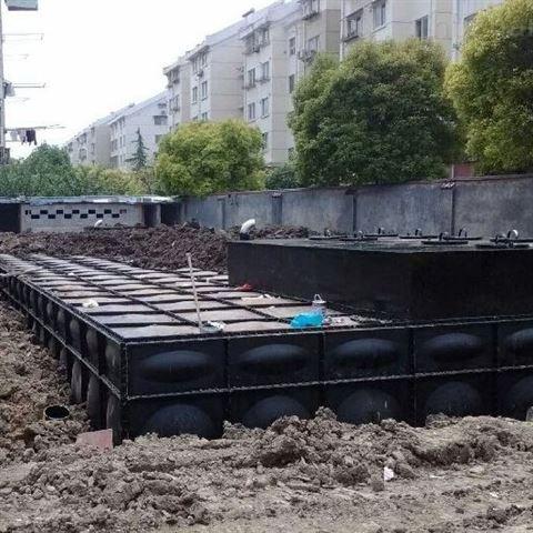 地埋式消防增压给水设备 抗浮式地埋水箱