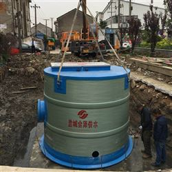 JZ-1200-2000预制式一体化污水提升泵站 雨水收集装置