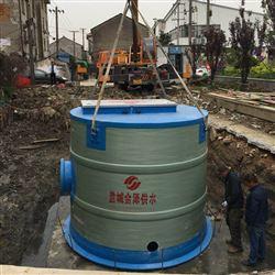 JZ-1200-2000埋地式一体化污水处理泵站